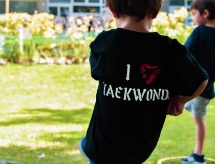 Τaekwondo... στην αυλή!