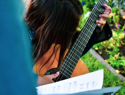 Μουσική στη φύση!