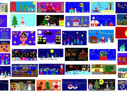 Οι κάρτες των Χριστουγέννων μας