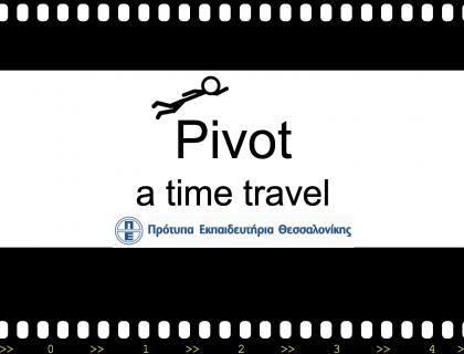 Pivot, a time travel - 4ο Μαθητικό Συνέδριο Πληροφορικής
