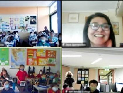 Συναρπαστική ψηφιακή συνάντηση με δύο Κολλέγια της Αθήνας