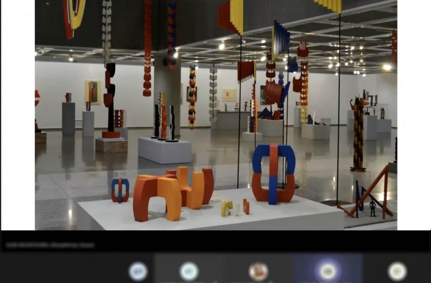 Επισκεφθήκαμε διαδικτυακά το Τελλόγλειο Ίδρυμα Τεχνών