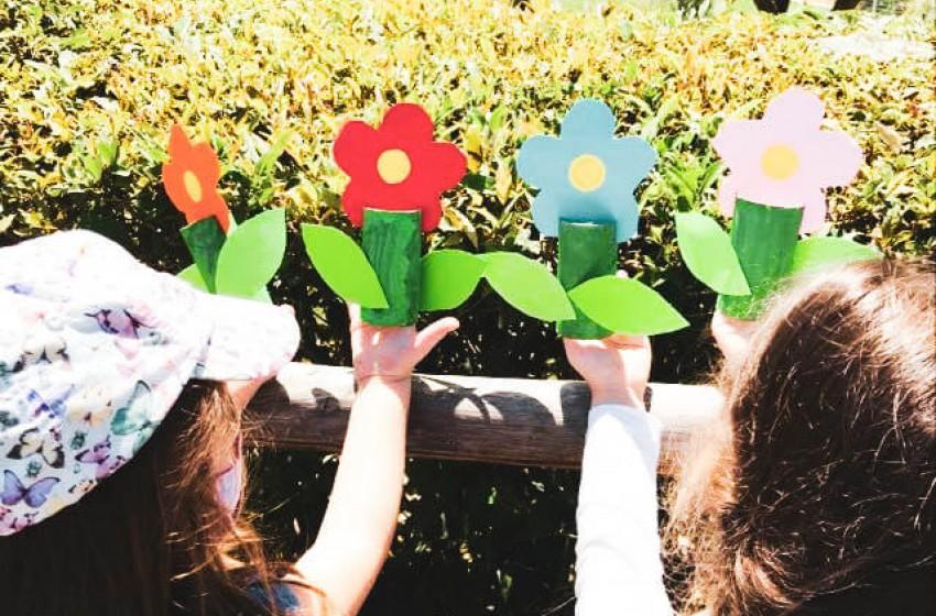 Εξερευνώντας τη φύση στην καταπράσινη αυλή μας